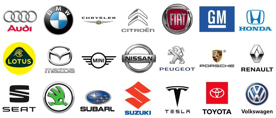 Car Manufacturers that use TERRA-S
